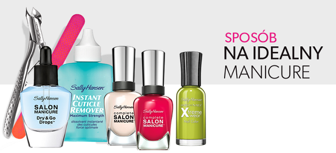 Sally Hansen Salon Compete Idealny Manicure 2